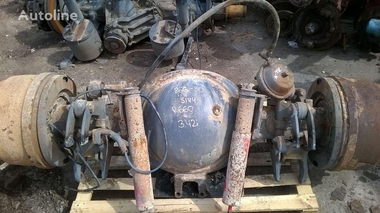 automobilio tiltas SCANIA rear axle complete, differencial R660 vilkiko SCANIA 144