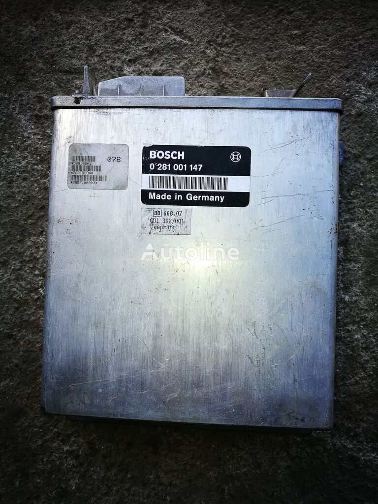 borto kompiuteris BOSCH sunkvežimio IVECO 260E38 , Bosch 0281001147