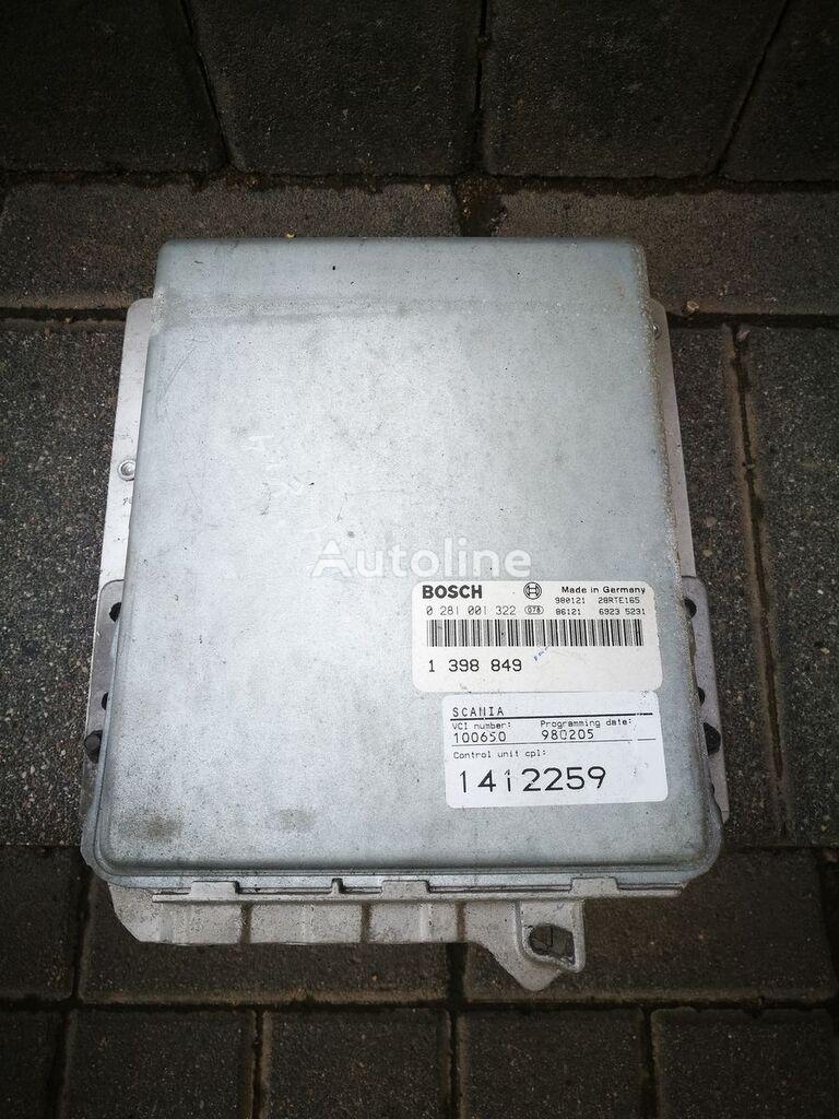 borto kompiuteris BOSCH sunkvežimio SCANIA 144 , 1412259