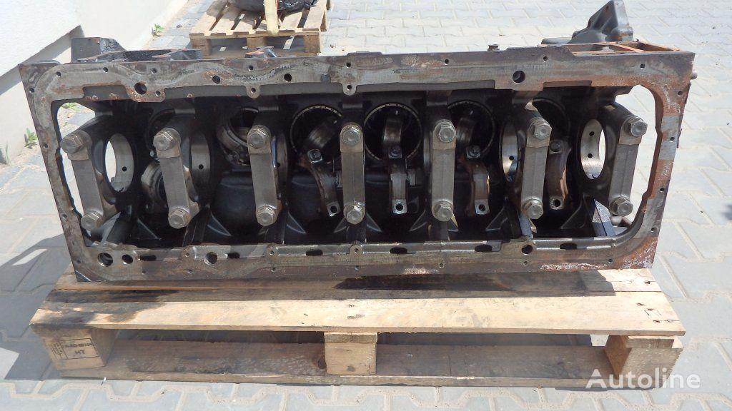 cilindrų blokas TGX, TGS EURO5, 440 PS, 480 PS, cylinder block, crankcase, short vilkiko MAN TGX