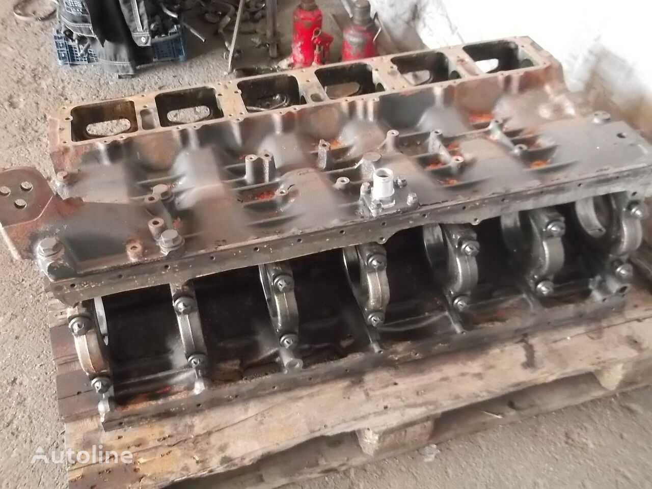 cilindrų blokas T, P, G, R, L series EURO 3, EURO 4 HPI injection system, cylind vilkiko SCANIA R, P, G, L series