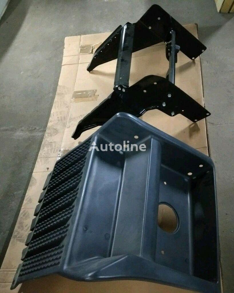 nauja dėžė akumuliatoriui SCANIA COVER REPAIR KIT STEPS+SIDE BRACKETS+PLASTIC COVER sunkvežimio SCANIA R, CR/CP