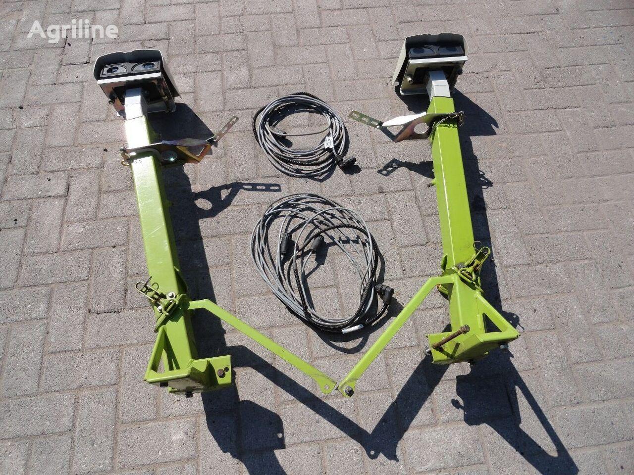 navigacijos sistema CLAAS Laserpilot links und rechts pjaunamosios CLAAS 1050 Vario