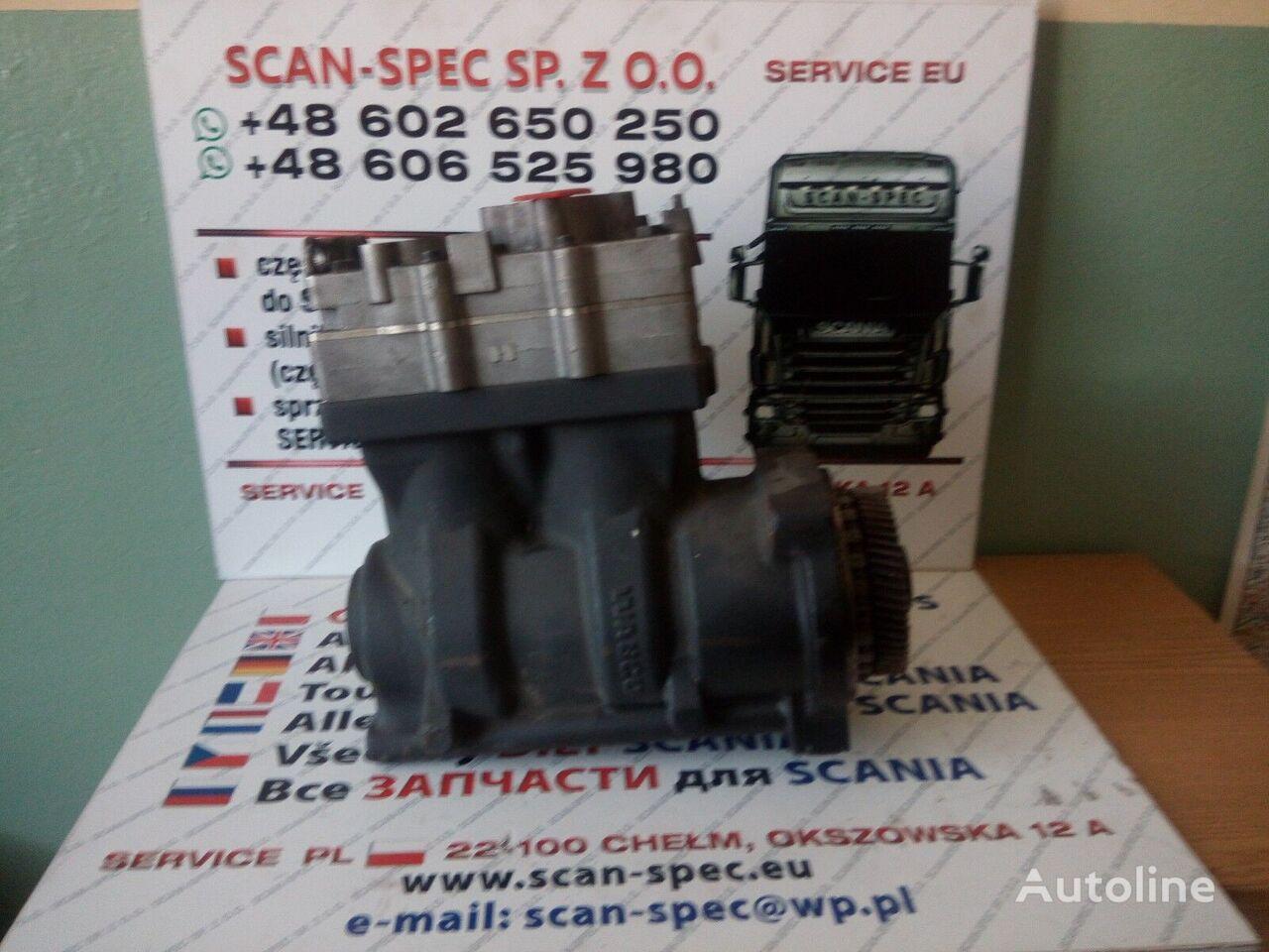 pneumatinis kompresorius SCANIA XPI vilkiko SCANIA SERIE  R