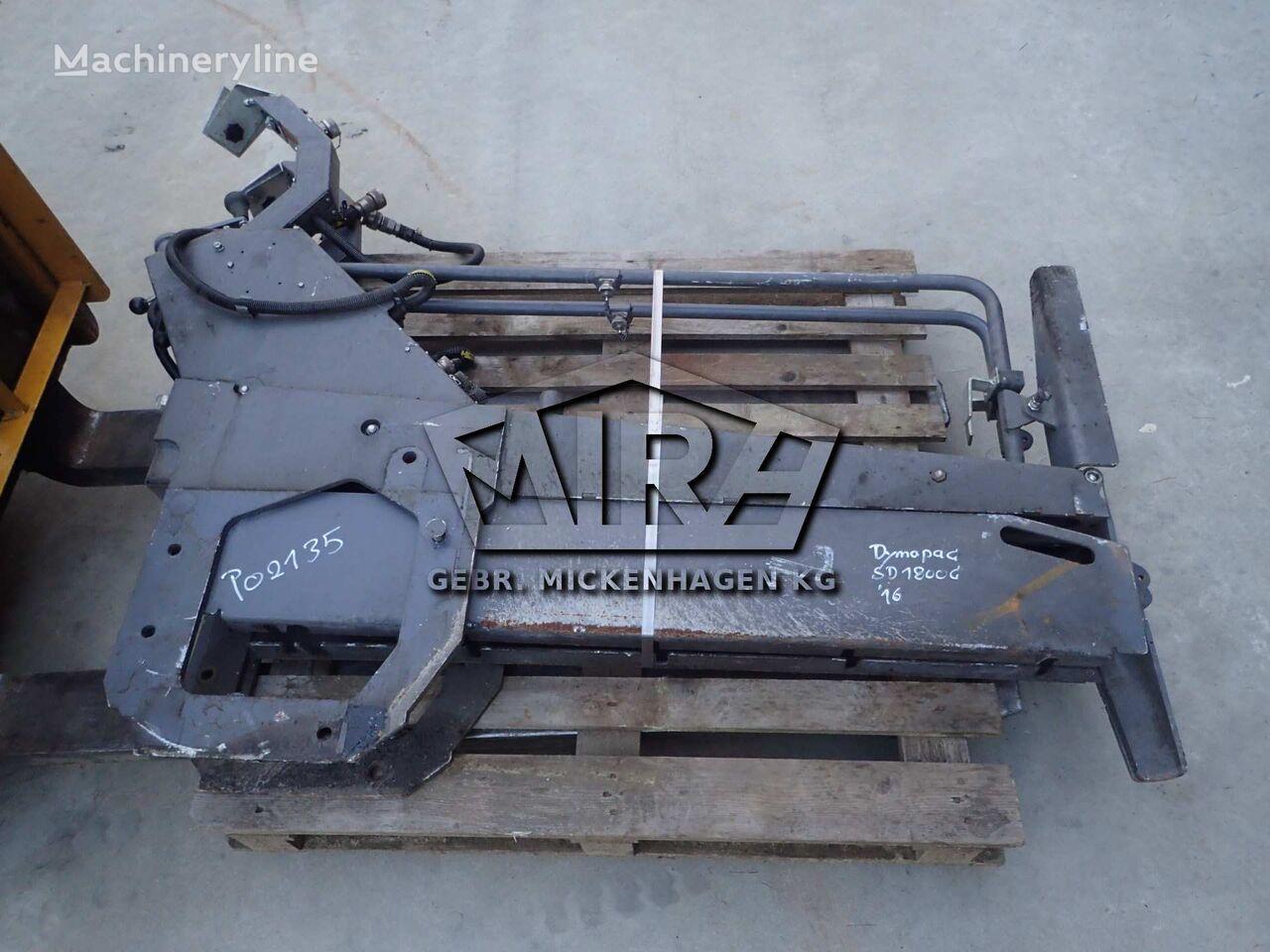 tvirtinimo elementai side blades asfalto klotuvo DYNAPAC SD 1800 C
