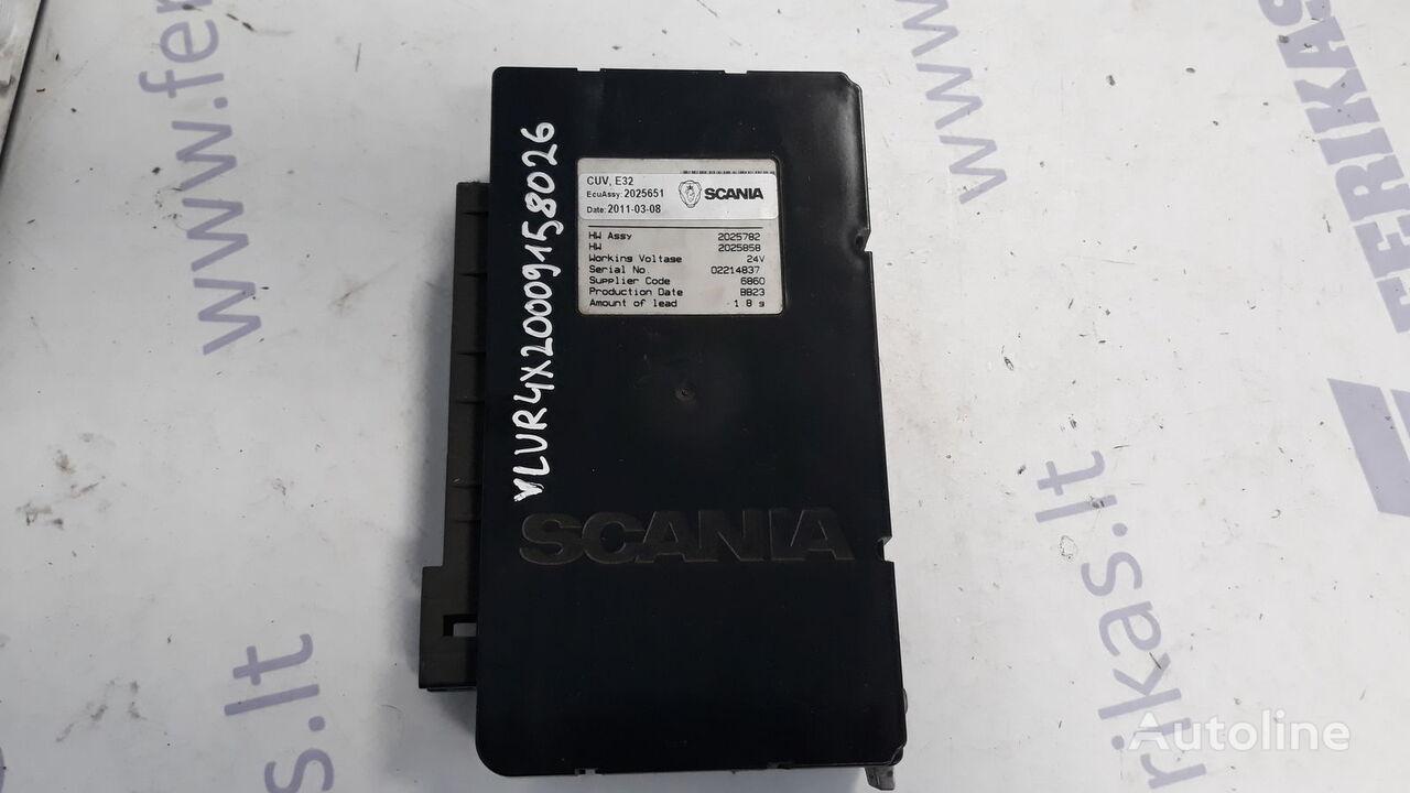 valdymo blokas SCANIA CUV, E32 control unit vilkiko SCANIA R