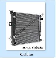 naujas variklio aušinimo radiatorius CATERPILLAR 16G, 16H, 16H NA, 3406B, 3408, 3412, 793C, 814B, 815B, 816B, 966 vikšrinio krautuvo