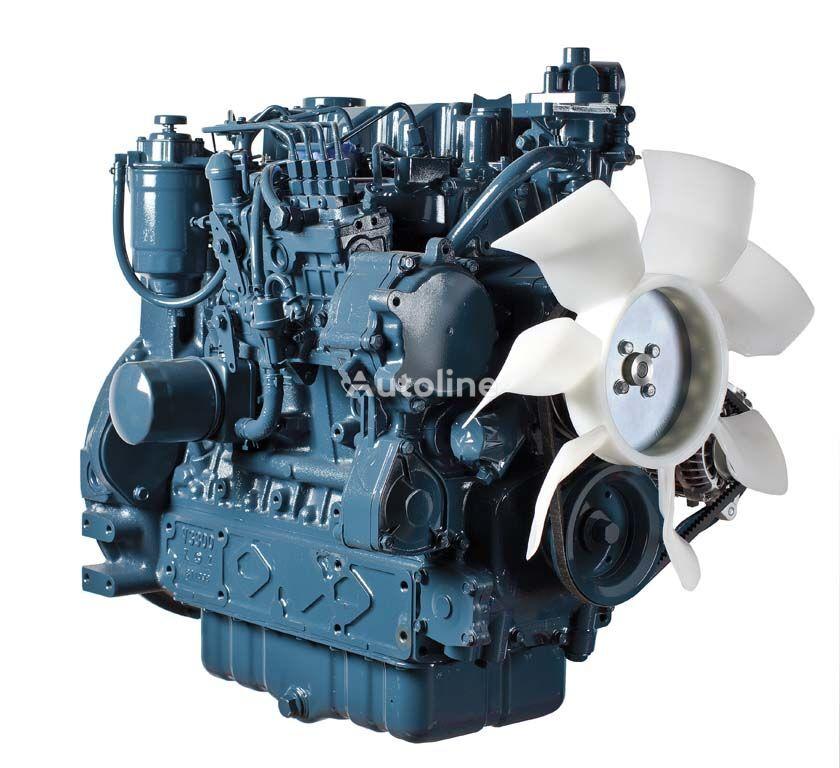 naujas variklis KUBOTA V3300 frontalinio krautuvo