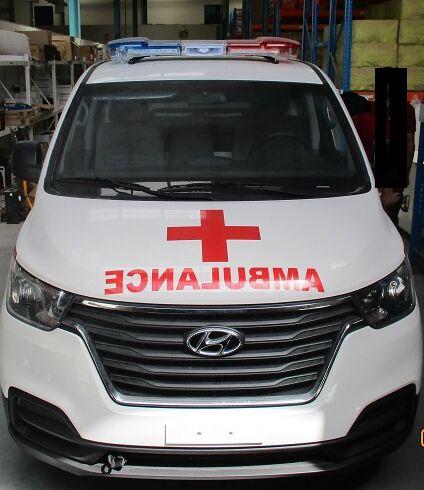 naujas greitosios pagalbos automobilis HYUNDAI H1 Petrol