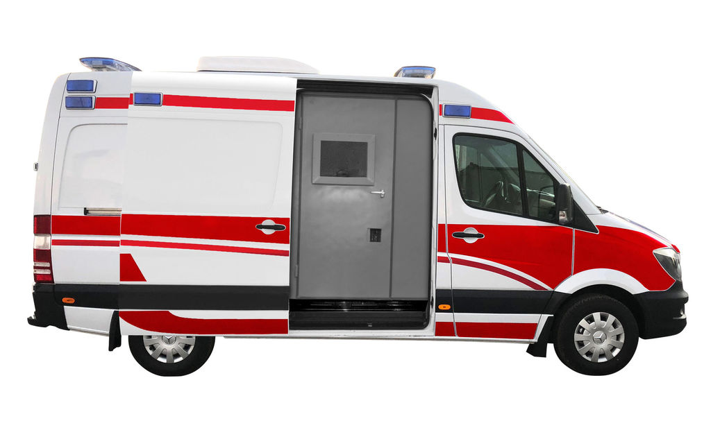 naujas greitosios pagalbos automobilis MERCEDES-BENZ ARMOURED B6 BULLET-PROOF 316 4x2 AMBULANCE TYPE B WITH EN1789+A2