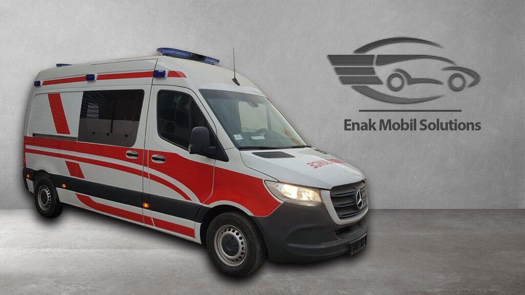 naujas greitosios pagalbos automobilis MERCEDES-BENZ SPRINTER 316 KTW - B TYPE AMBULANCE
