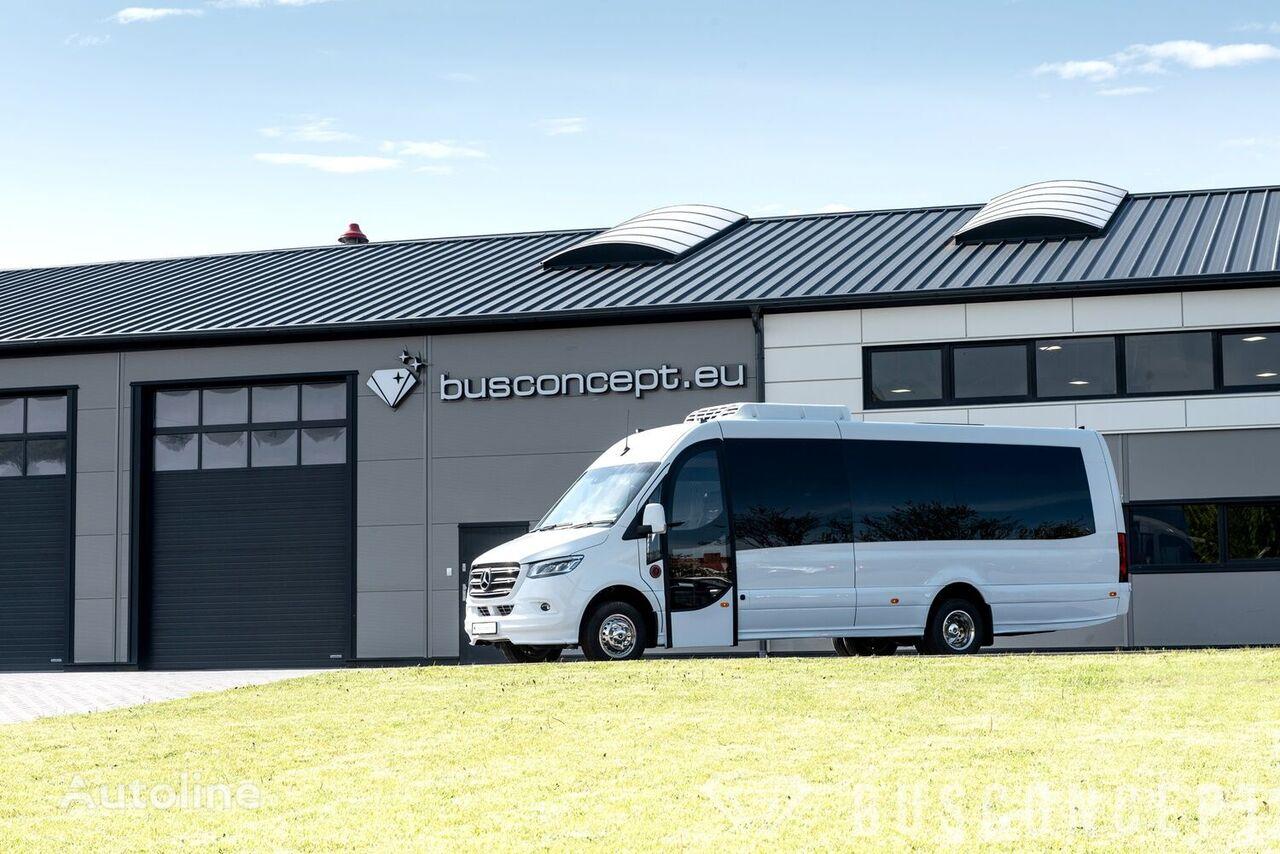 naujas keleivinis mikroautobusas MERCEDES-BENZ Sprinter 516 8 m BIG BOOT 16 +1 Right Hand Drive, ON STOCK