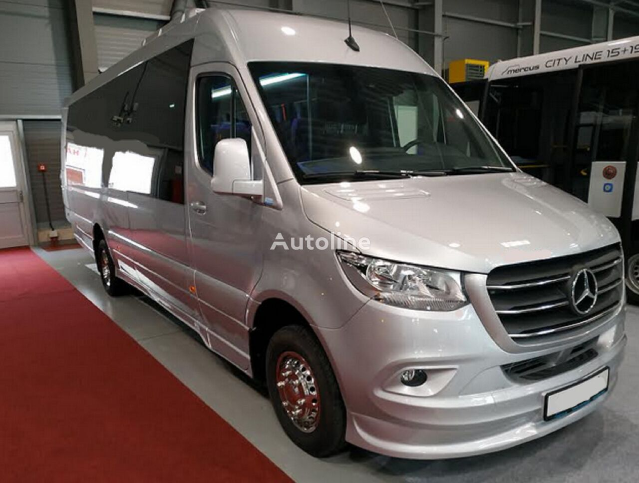 naujas keleivinis mikroautobusas MERCEDES-BENZ Sprinter 519