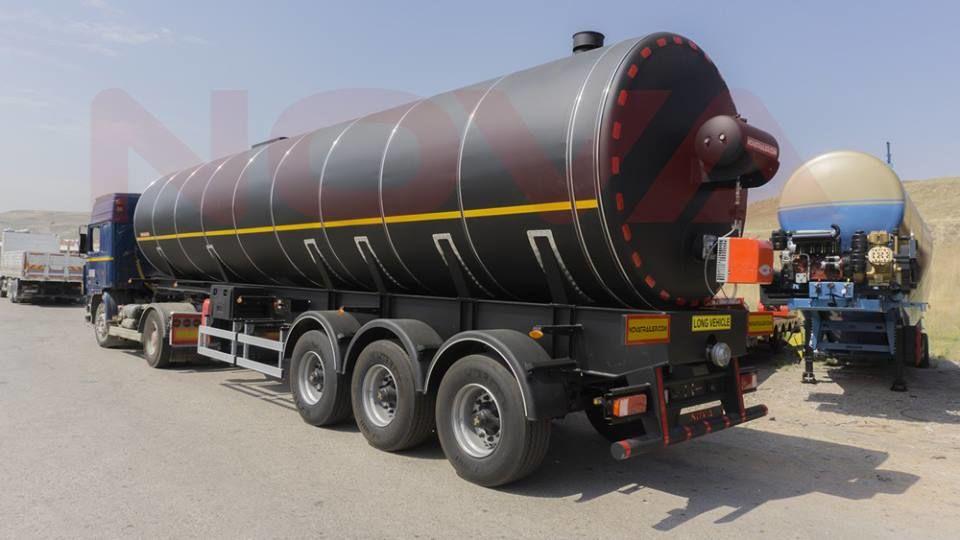 nauja bitumo cisterna NOVA Bitumen Asphalt Tanker