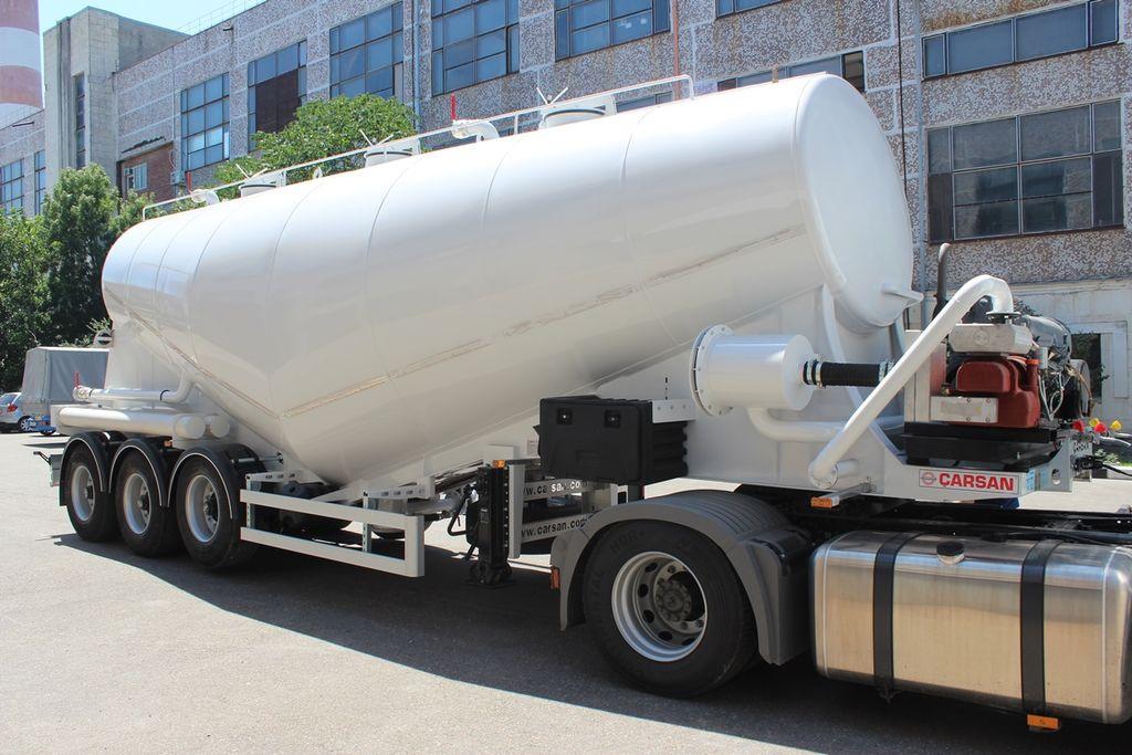 naujas cemento cisterna CARSAN Vakuumnyy