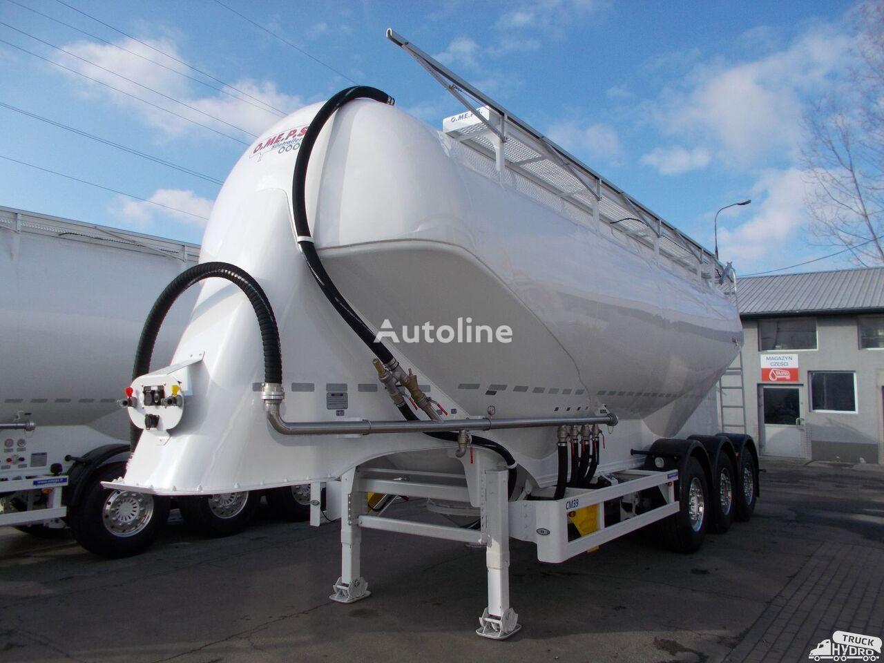 naujas cemento cisterna OMEPS CM 39/SPITZER/FELDBINDER Szybkie terminy odbioru - 2019 r.