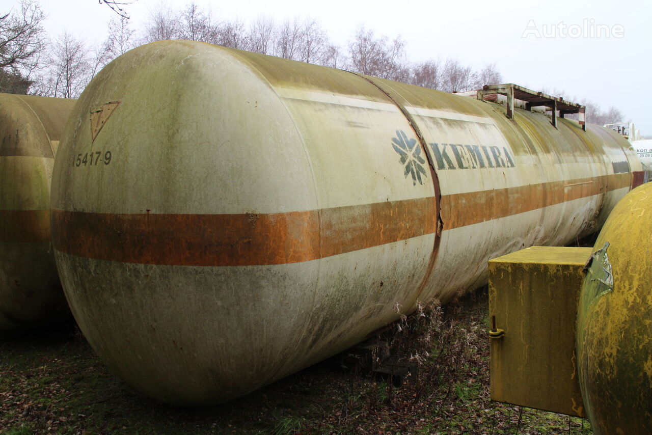 dujų cisterna ACERBI 77 000 liter, 4 units