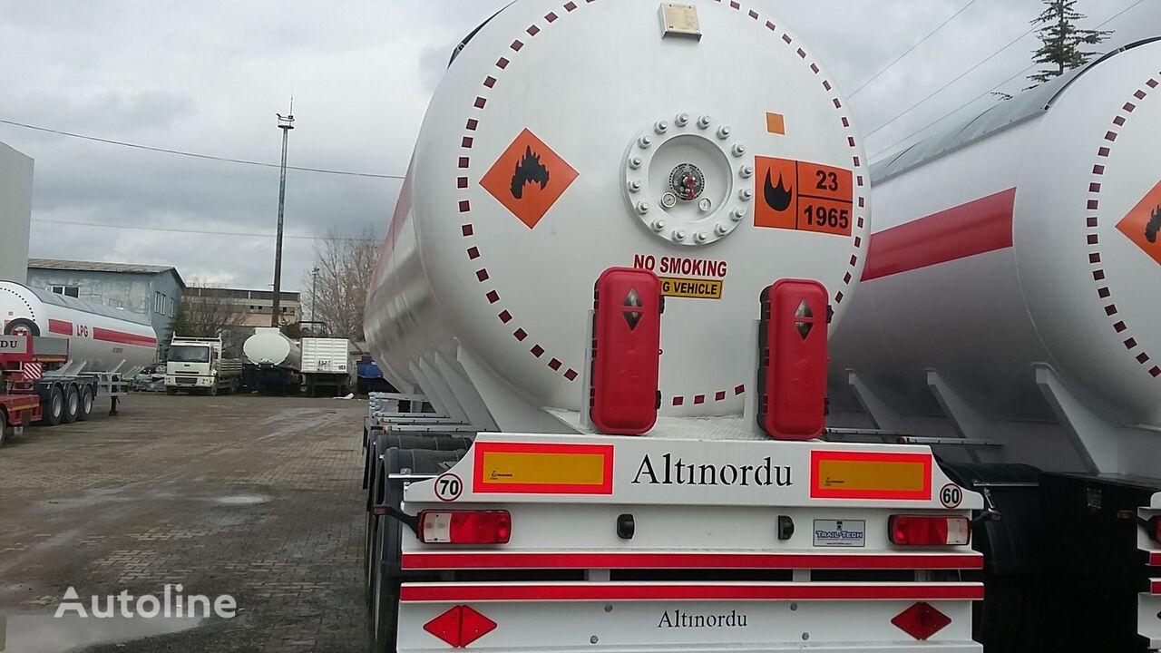 naujas dujų cisterna ALTINORDU PRODUCER SINCE 1972,3 AXLE 12 TYERS 60 M3 LPG ROAD TANKER