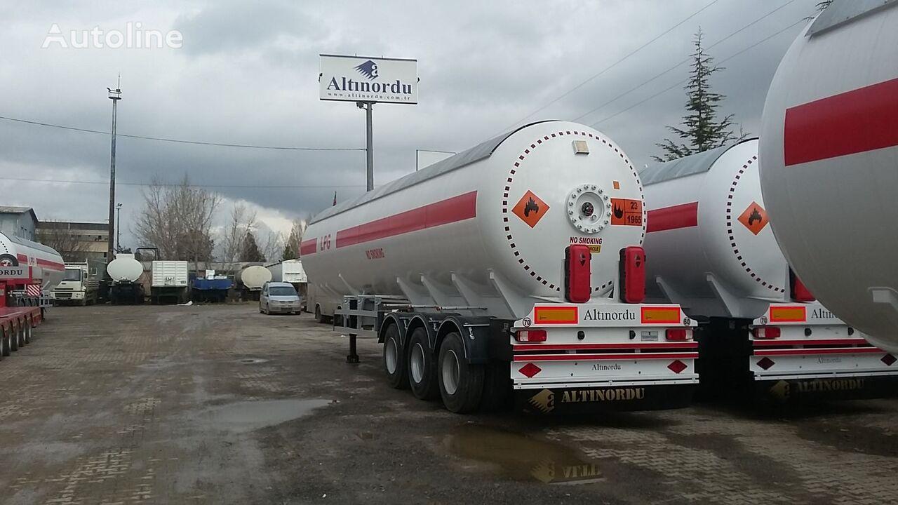 naujas dujų cisterna ALTINORDU PRODUCER SINCE 1972, 3 AXLE , 12 TYERS, 60 M3 LPG ROAD TANKER