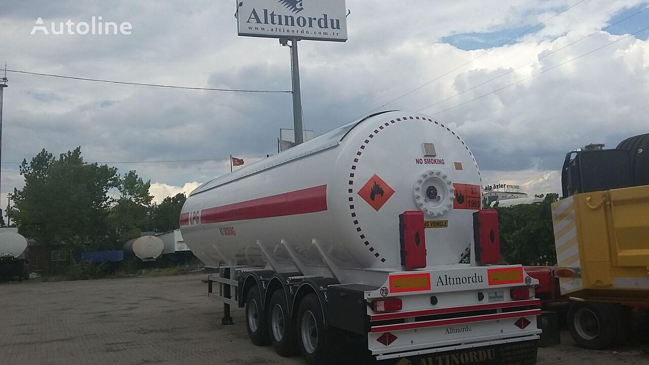naujas dujų cisterna ALTINORDU PRODUCER SINCE 1972, 3 AXLE , 6 TYERS ,50 M3 LPG TRANSPORT TANK