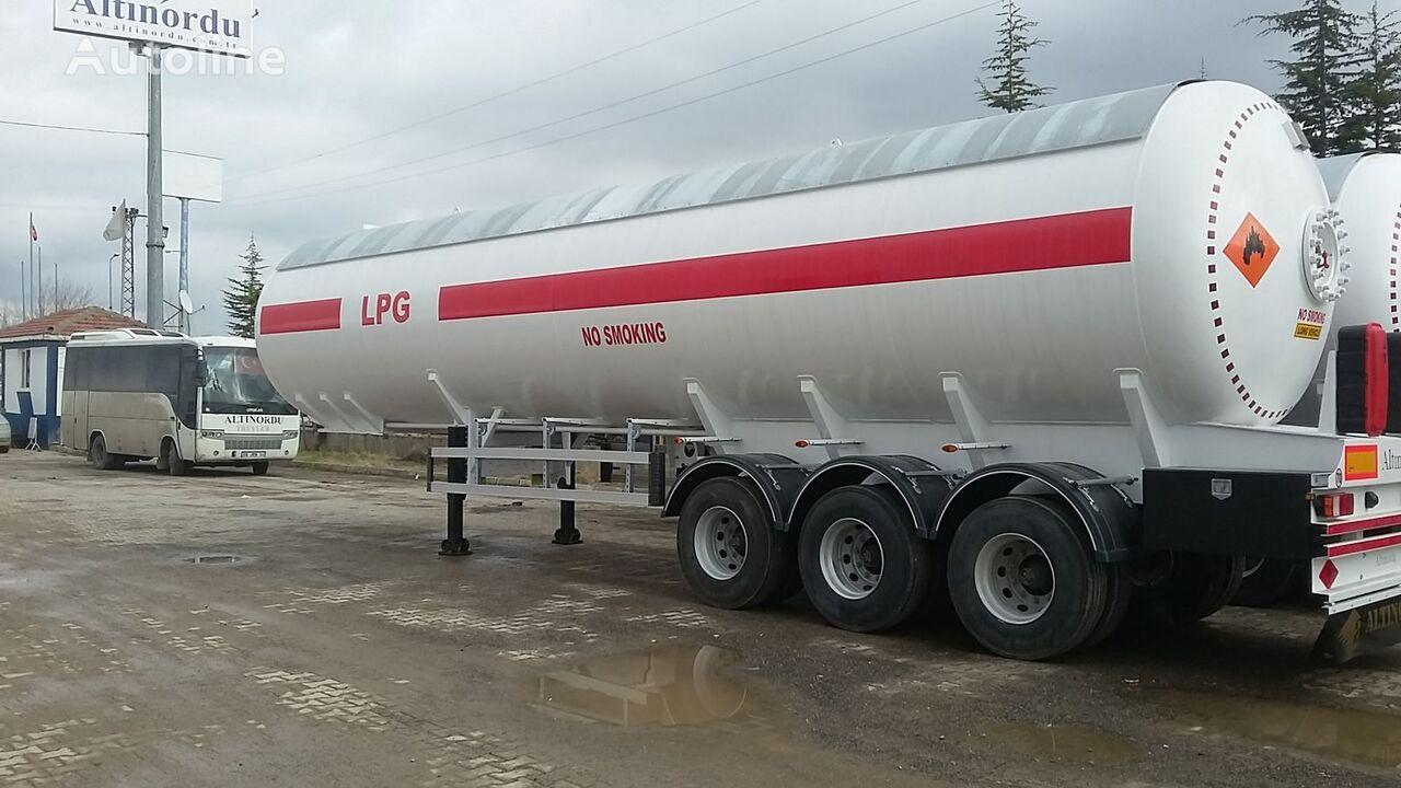naujas dujų cisterna ALTINORDU PRODUCER SINCE 1972, 3 AXLE 60 M3, 12 TYERS