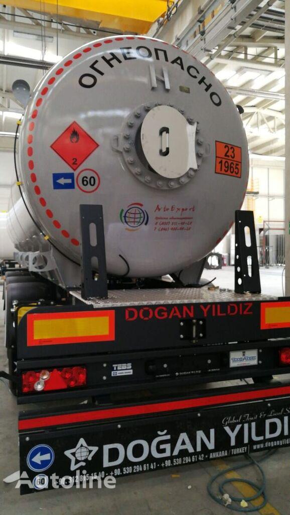 naujas dujų cisterna DOĞAN YILDIZ DY3