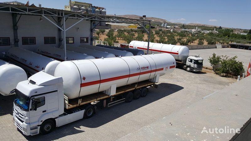 naujas dujų cisterna DOĞUMAK 115 M3 LPG STORAGE