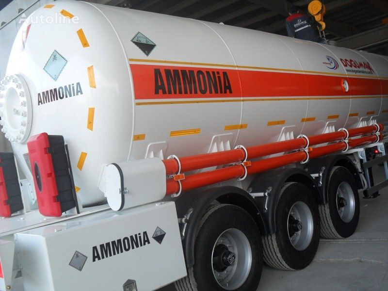 naujas dujų cisterna DOĞUMAK AMMONIA NH3