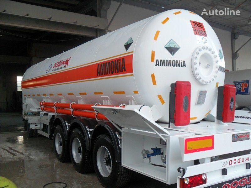 naujas dujų cisterna DOĞUMAK AMMONIA NH3 35M3