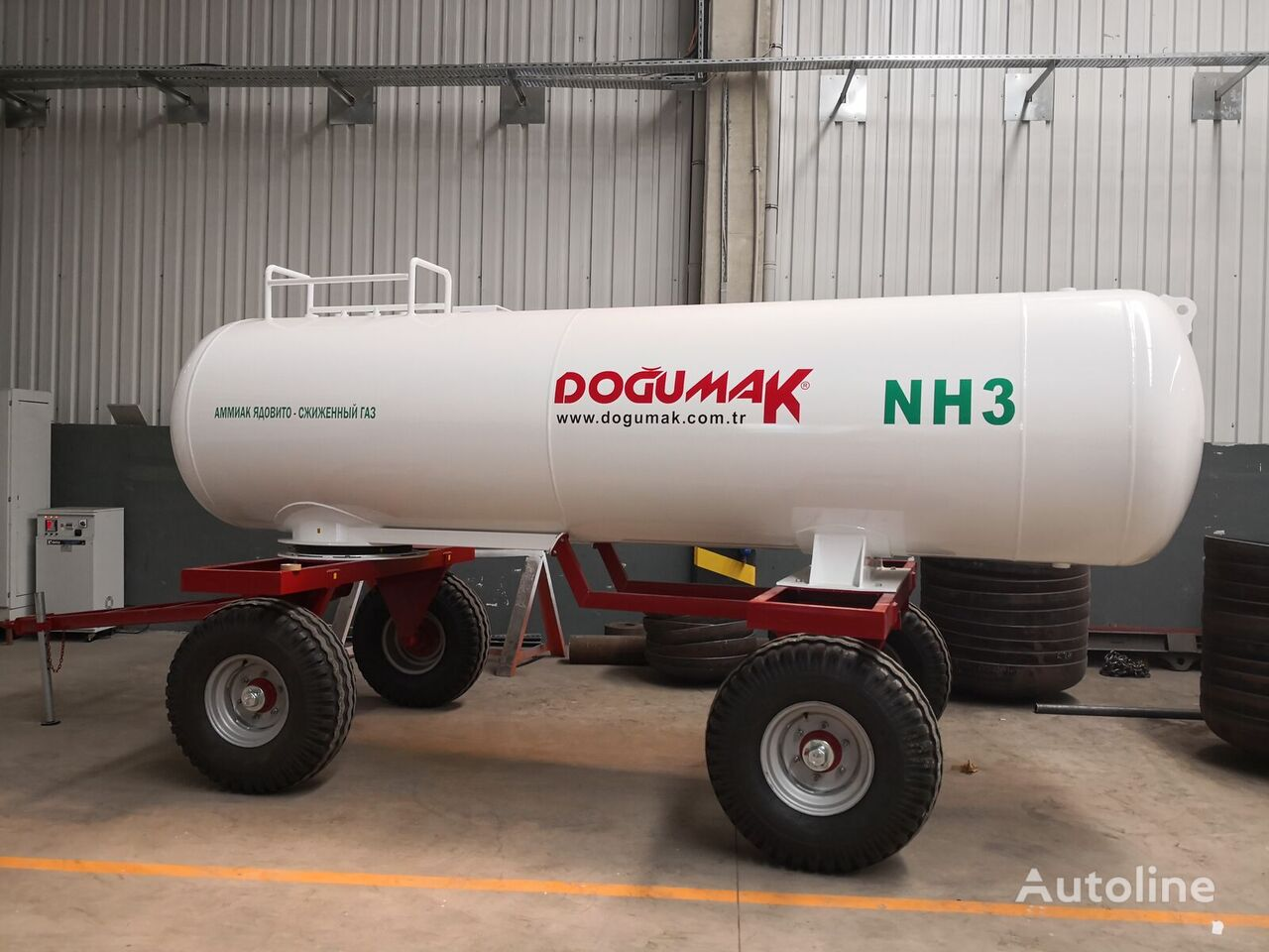 naujas dujų cisterna DOĞUMAK Ammonia fertilizer application Tank (NH3) 5,5 M3