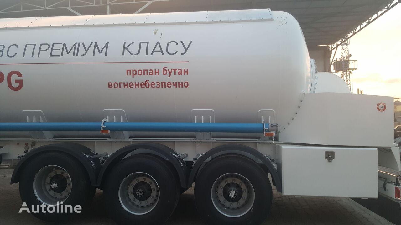 naujas dujų cisterna DOĞUMAK CORKEN PUMP AND LIQUID  CONTROL(LC) MASFLOW METER