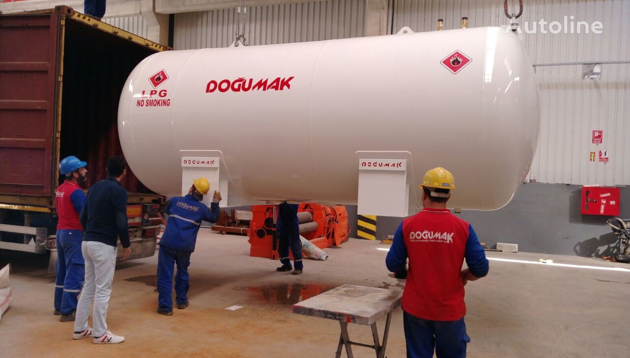 naujas dujų cisterna DOĞUMAK DM-STK 44 M3 FOR FITTING INTO 40' CONTAINER