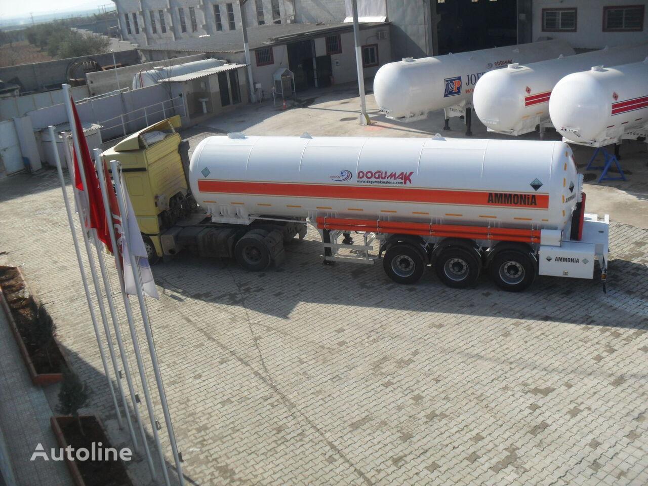 naujas dujų cisterna DOĞUMAK FOR ANHYDROUS AMMONIA TRANSPORTATION