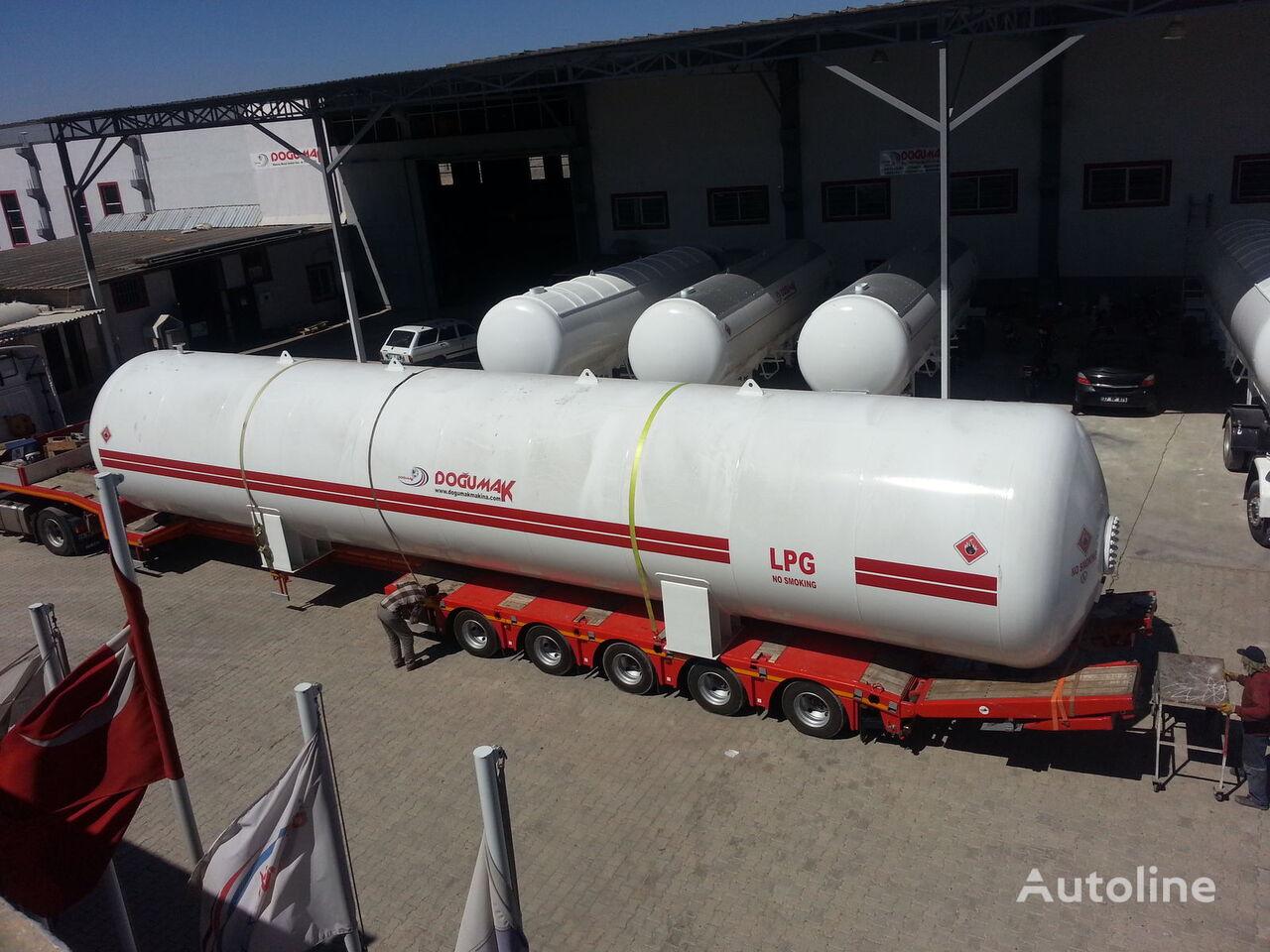 naujas dujų cisterna DOĞUMAK INDUSTRIAL LPG STORAGE TANKS
