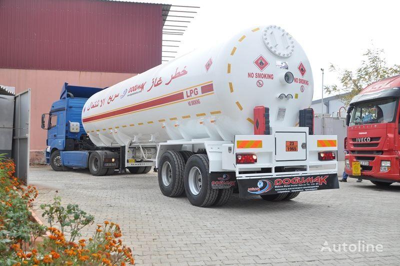 naujas dujų cisterna DOĞUMAK LPG 57 M3 YEMEN TYPE