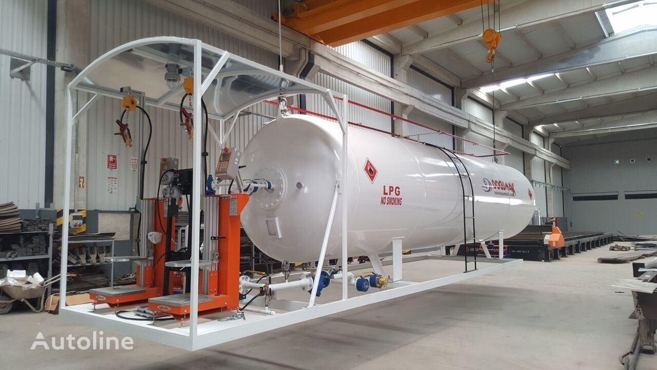 naujas dujų cisterna DOĞUMAK LPG CLYNDER FILLING MINI SKID PLANT