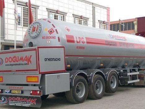 naujas dujų cisterna DOĞUMAK LPG - DM