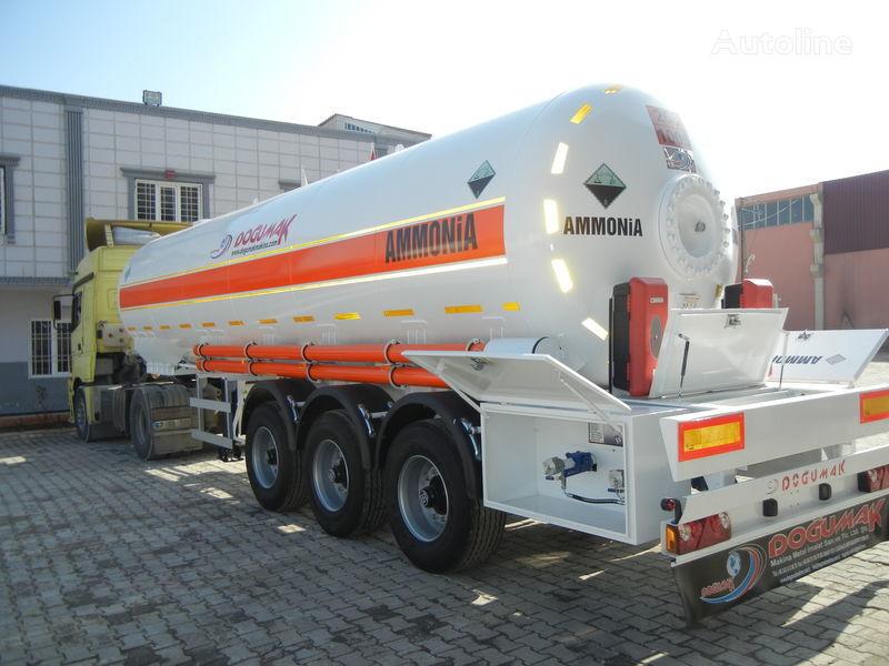 naujas dujų cisterna DOĞUMAK SEMI-TRAILER  35M3 AMMONIA (NH3)