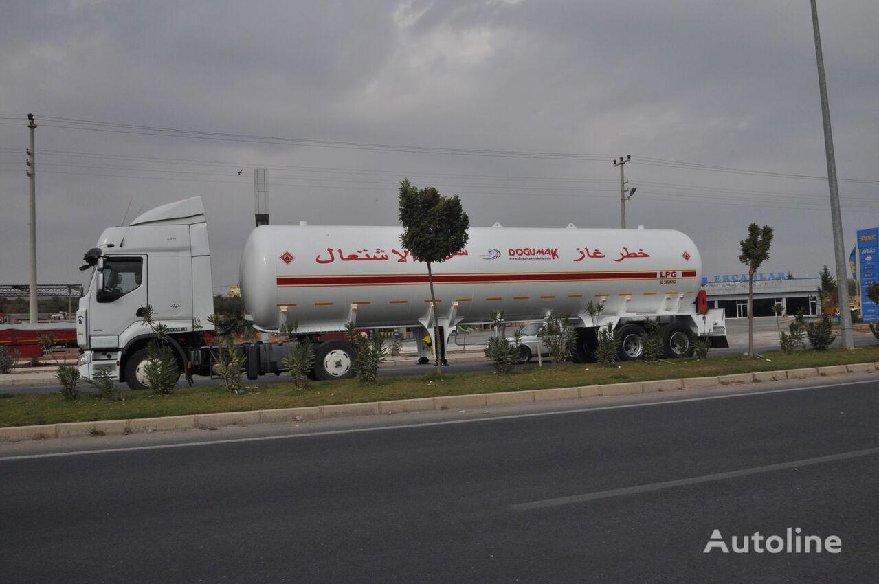 naujas dujų cisterna DOĞUMAK YEMEN TYPE 57 M3