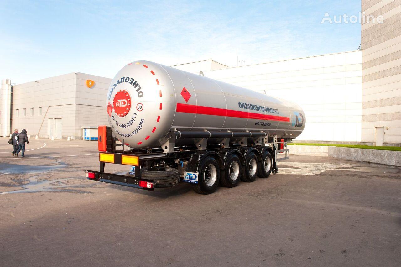 naujas dujų cisterna GT7 PPCT-44