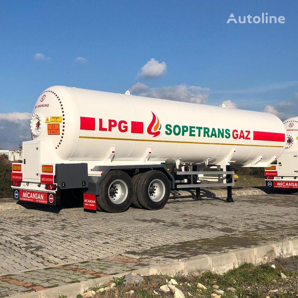naujas dujų cisterna Micansan
