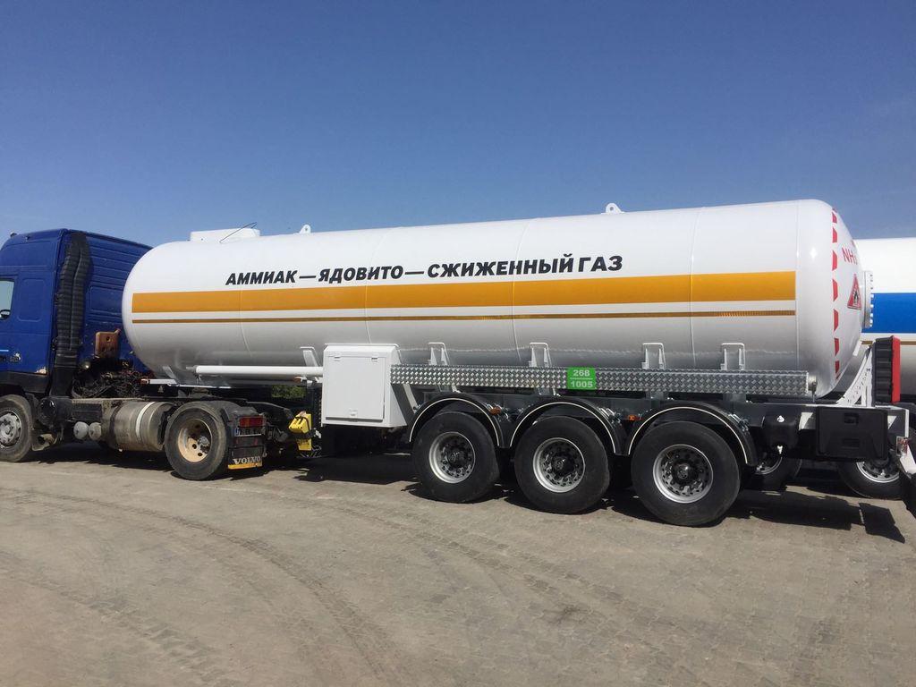 naujas dujų cisterna Micansan 2019 36 m3 AMMOMNIA/LPG FOR RUSSIA /KAZHAKISTAN