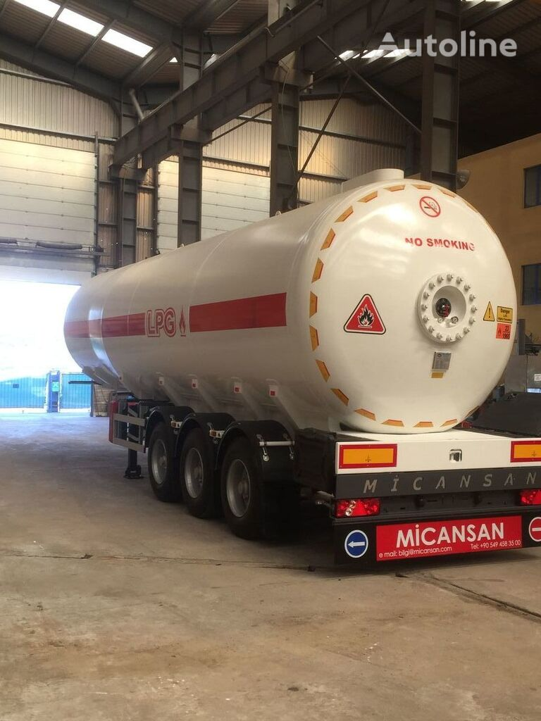 naujas dujų cisterna Micansan 2019 READY FOR SHIPMENT NEW MODEL EXCELLENT PRODUCT 50 M3