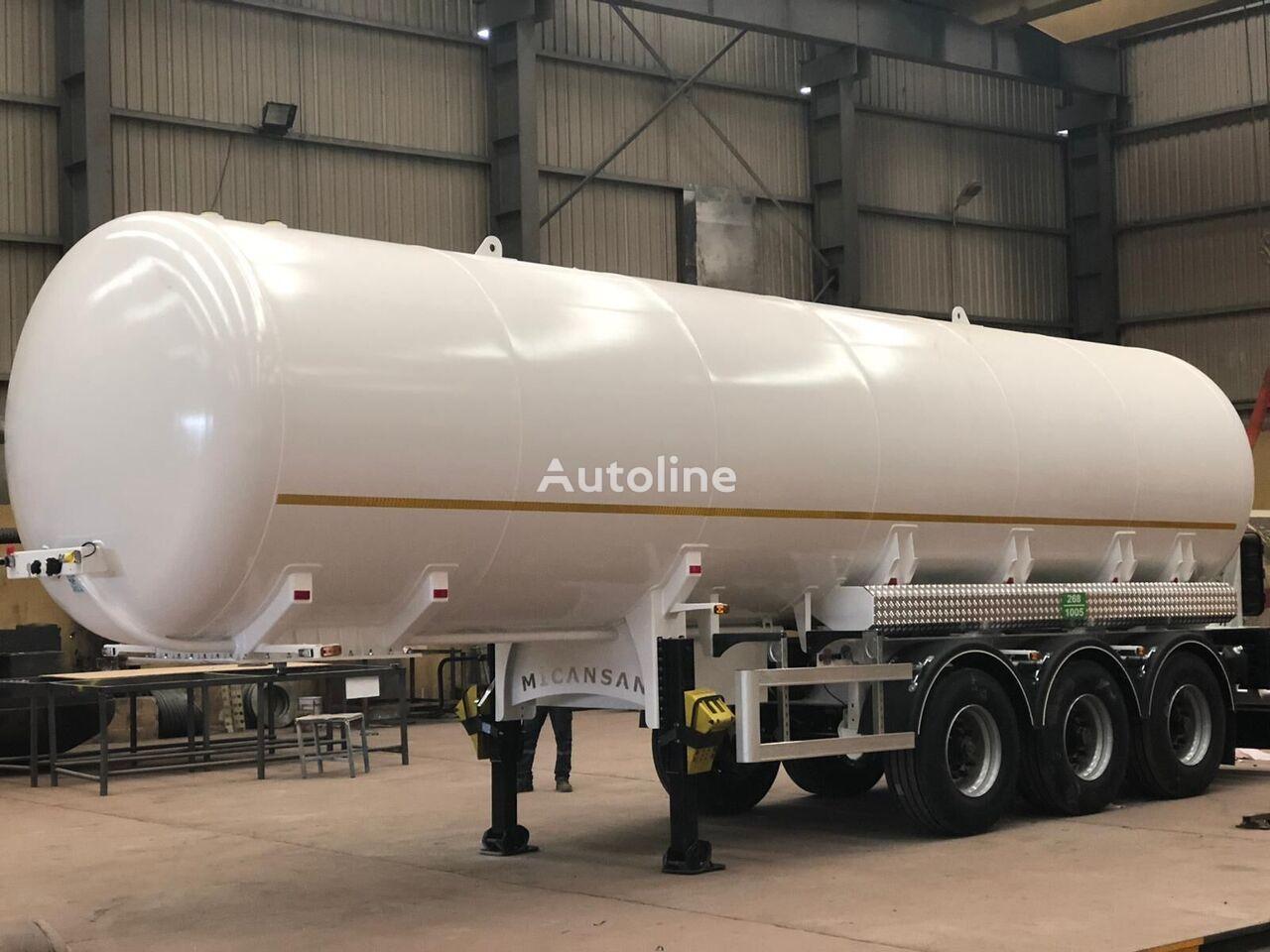 naujas dujų cisterna Micansan 2020 45 m3 excellent product 3 axles 6 tıres