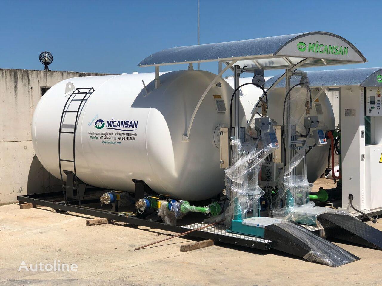 naujas dujų cisterna Micansan BIG DISCOUNT NEW 2019 LPG SKID SYSTEMS FILLING SCALES