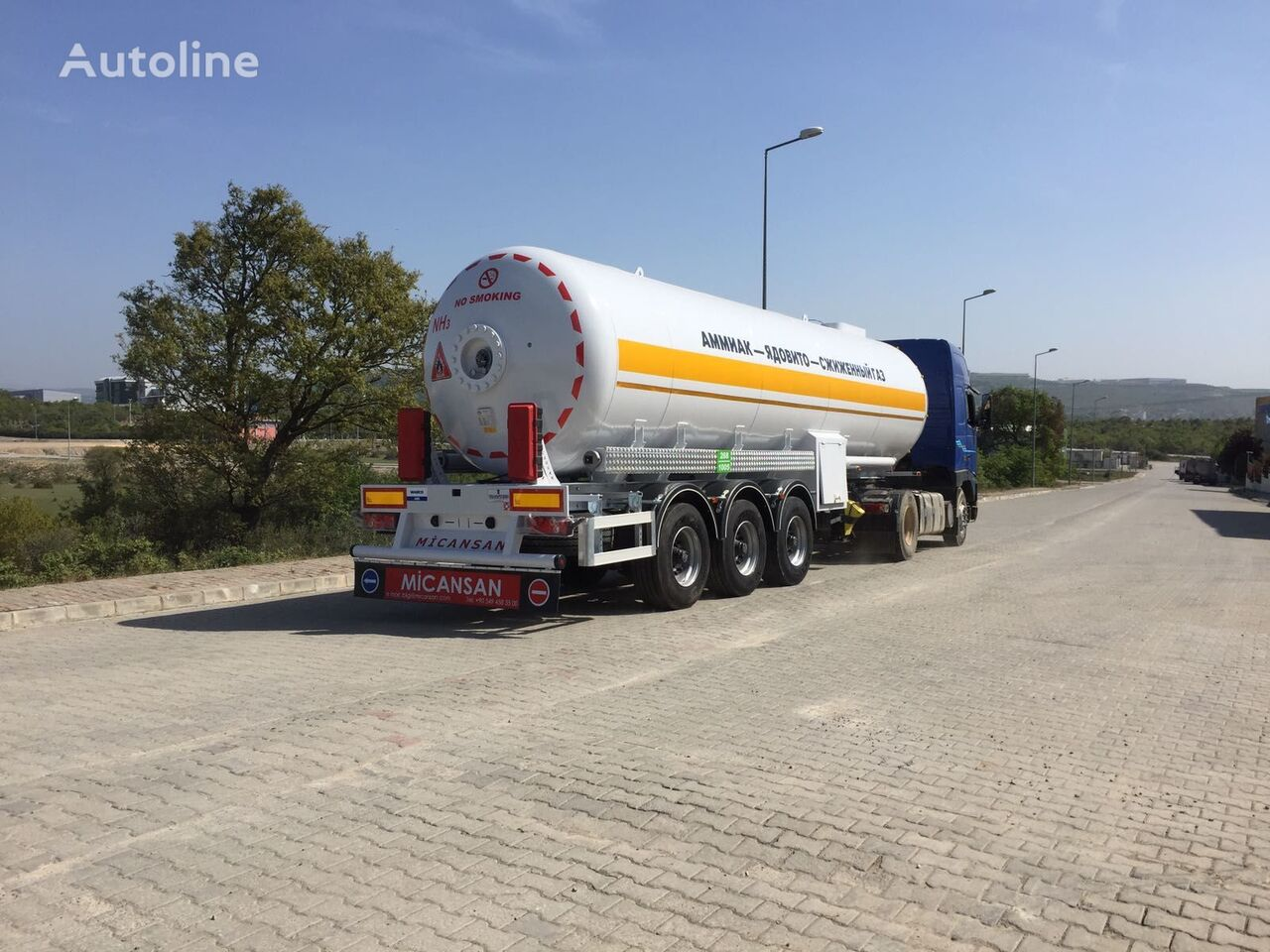 naujas dujų cisterna Micansan LPG GAS TANKS STORAGES AND LPG GAS TRANSPORT TANK SEMI TRAILERS