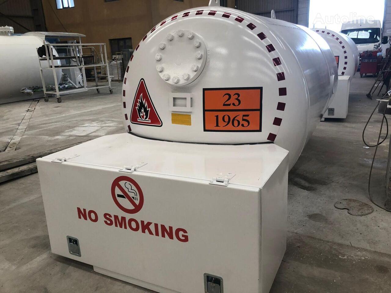 naujas dujų cisterna Micansan bobtaıl tank 4-8-10 m3 for domestıc usıng