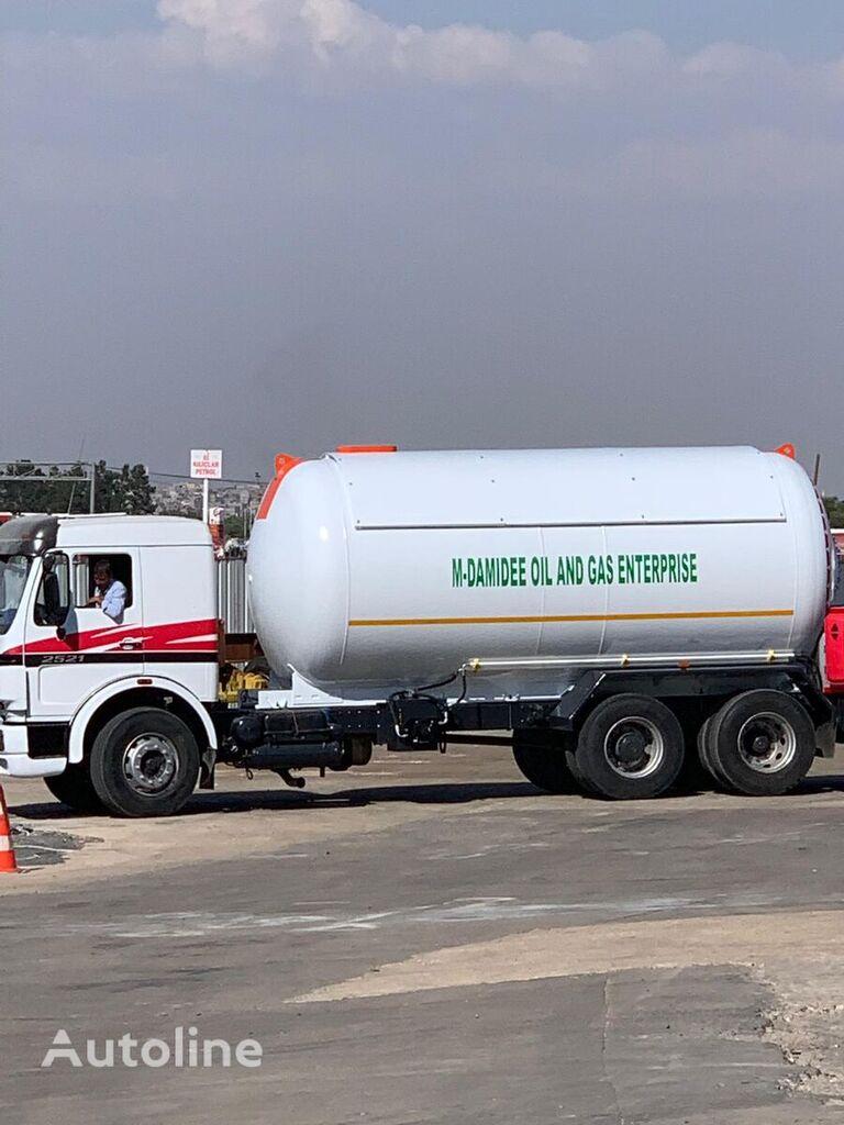 naujas dujų cisterna YILTEKS