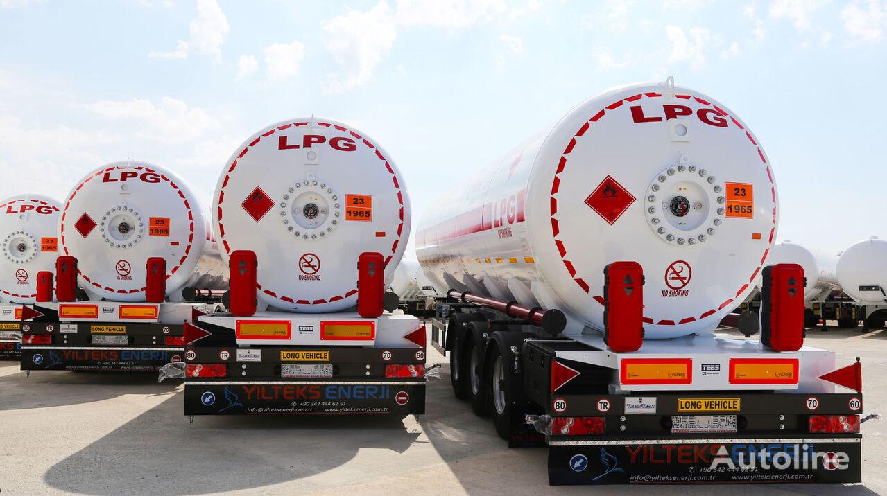 naujas dujų cisterna YILTEKS 45 M3 LPG SEMI TRAILER