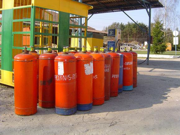 dujų cisterna ZBA LPG cylinders PROPAN BUTAN
